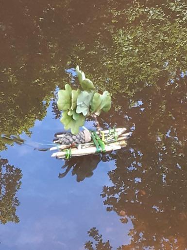 Emma's brilliant raft