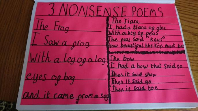 More amazing nonsense poems from Anna