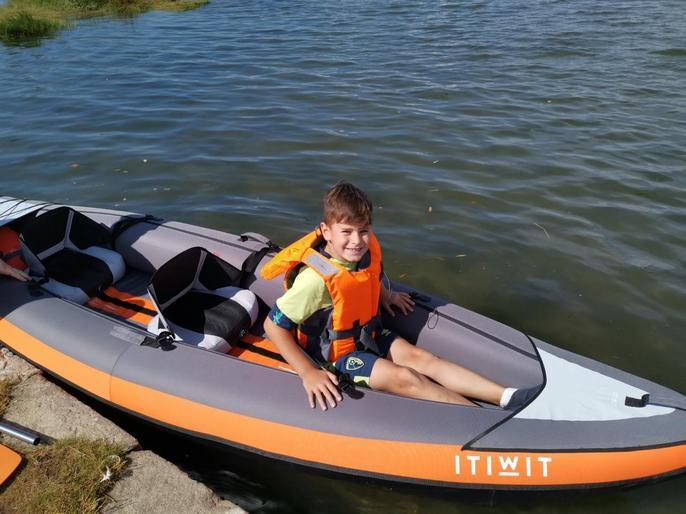 Oskar having lots of fun!