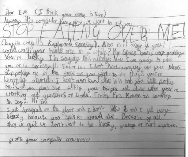 Eva's HILLARIOUS 'I Quit' letter