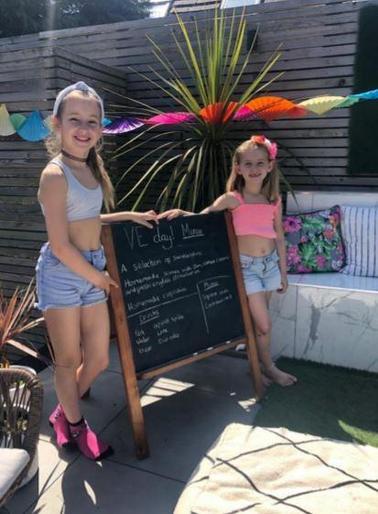 Maisy's VE Day party!