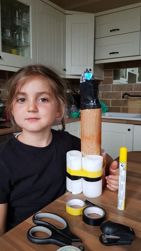 Tara's awesome rocket model