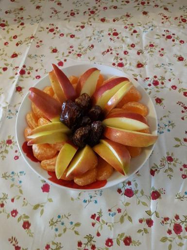 Jemima's fantastic fruit salad!