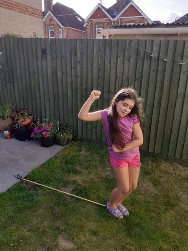 Emma enjoying her sports day!
