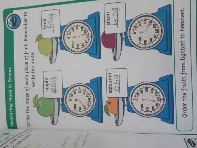 Holly's marvellous maths