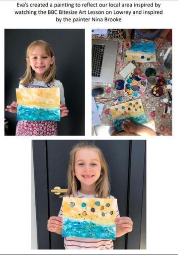 Eva's AMAZING artwork!