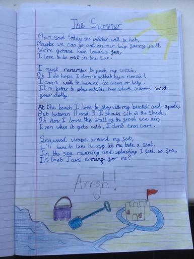 Kaiyah's super poem!