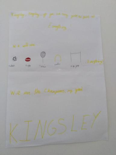 Edith's Kingsley poster