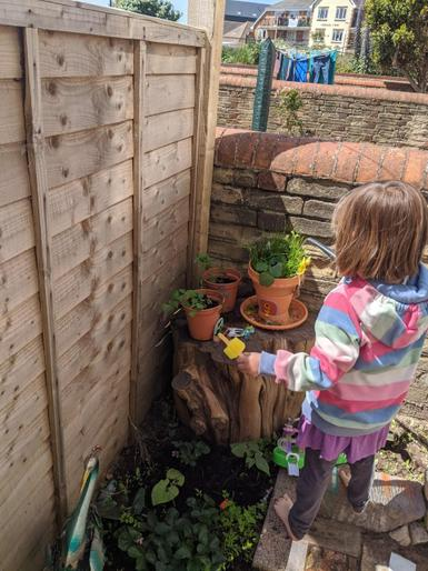 Busy being a gardener!