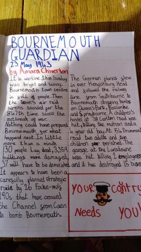Amara's brilliant newspaper report