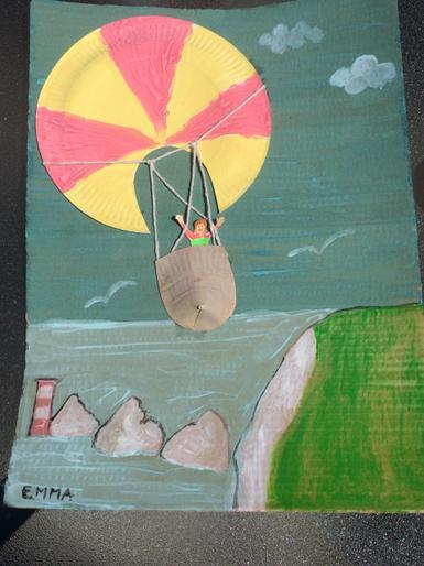 Emma's brilliant balloon picture