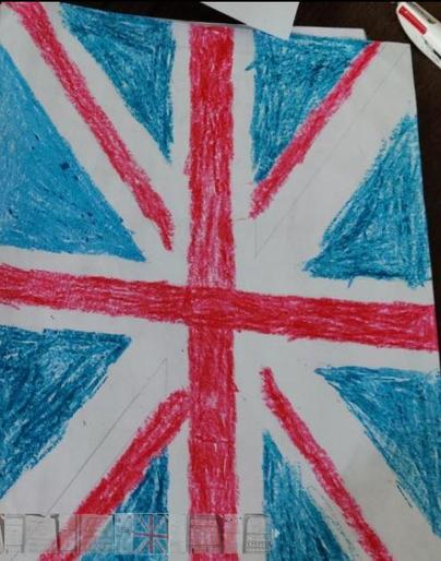 Alfie's Union Jack!