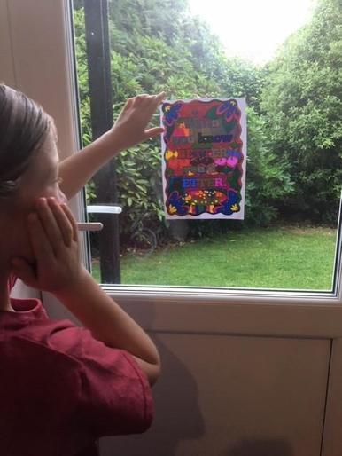 Luca's super mindfulness colouring
