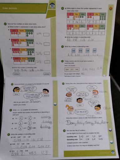 Oskar's magnificent maths