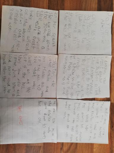 Jayton's amazing adventure story!