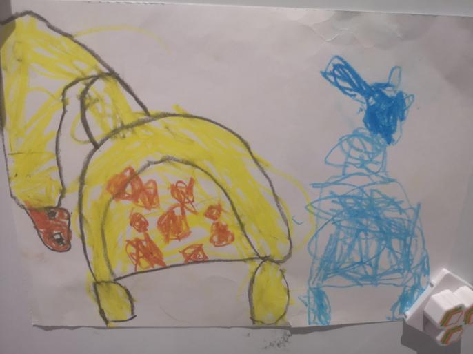 Logan's super drawing!