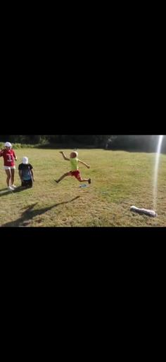 Mark's super long jump!