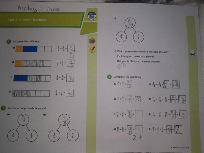 Oskar's super maths!