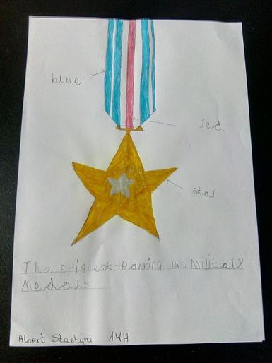 Albert's VE Day medal
