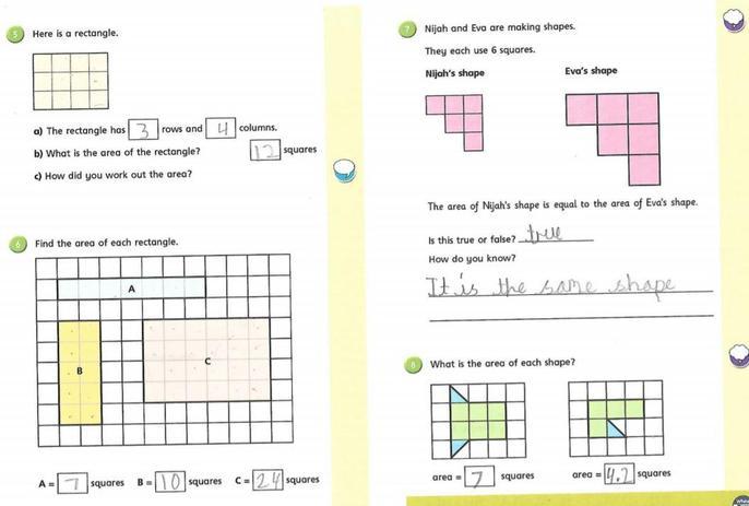 Maria's marvellous maths!