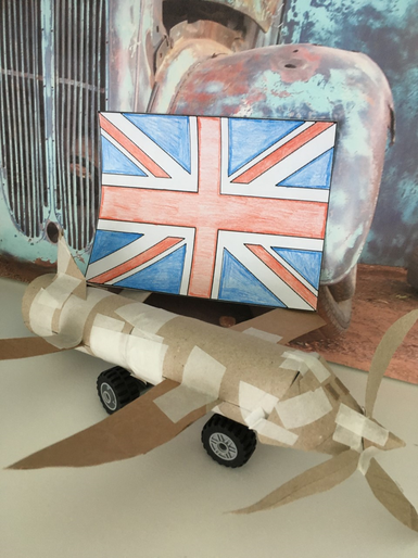 Janus' brilliant VE Day activities