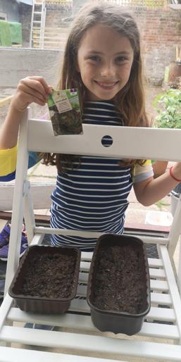 Mabel's planting
