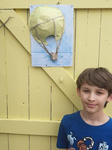 Martin's brilliant balloon picture
