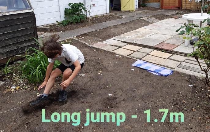 Martin's long jump!