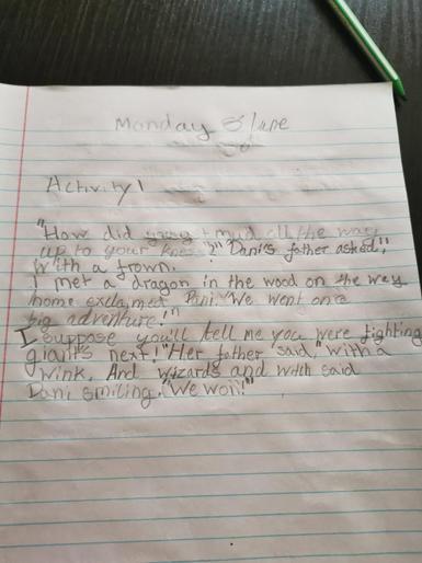 Oskar's brilliant writing!
