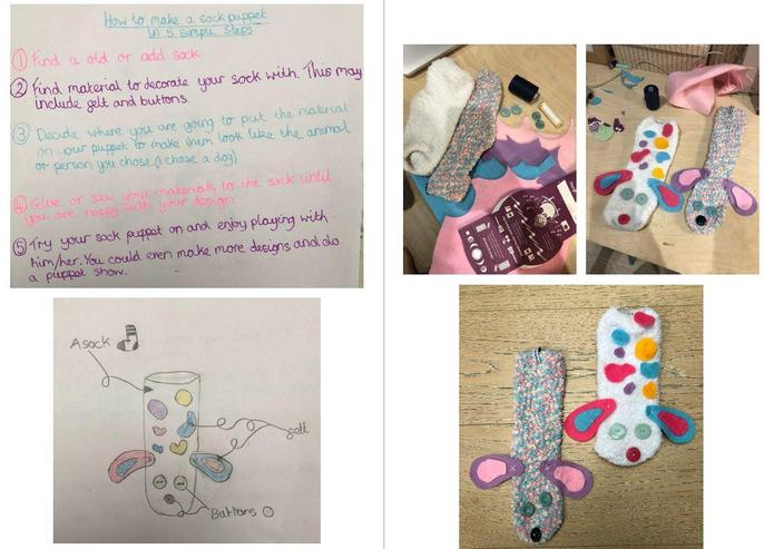 Maisy's upcycling project