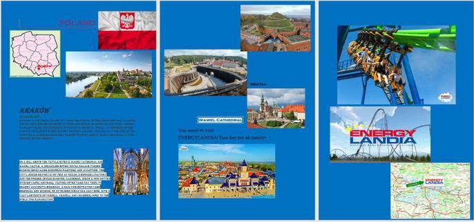 Oskar's leaflet on Poland