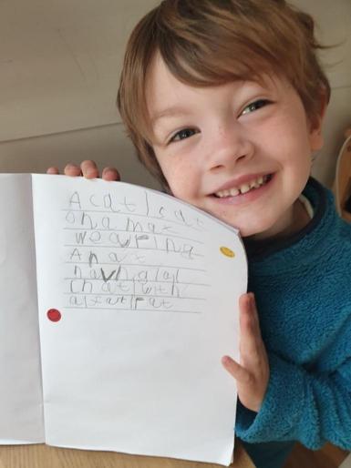Willem's wonderful writing