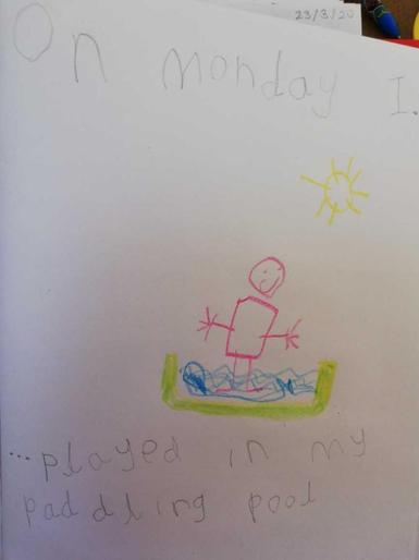 Noah is a superstar writer!