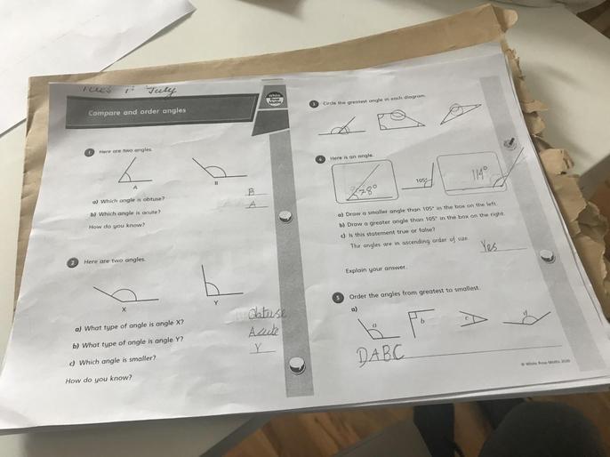 Joanna's marvellous maths