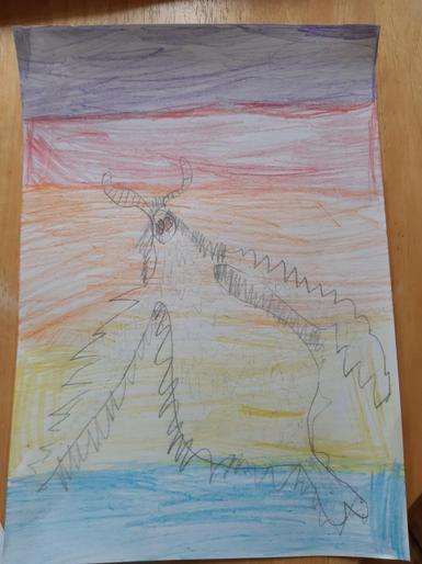 Isla's super Space-Bat-Angel-Dragon