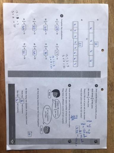 Kaia's marvellous maths!