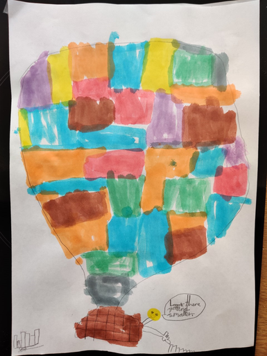 Zephyr's brilliant hot air balloon picture