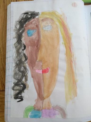 Scarlett's wonderful portrait