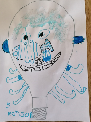 Ronson's super hot air balloon picture!