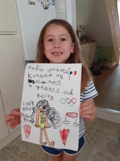 Bailey's super Olympics poster!