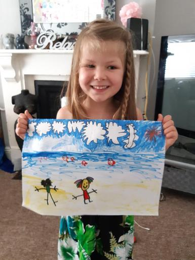 Lacey May's beautiful picture