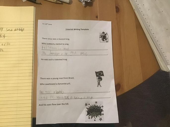 Filippo enjoyed writing limericks