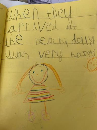 Dolly's amazing writing!
