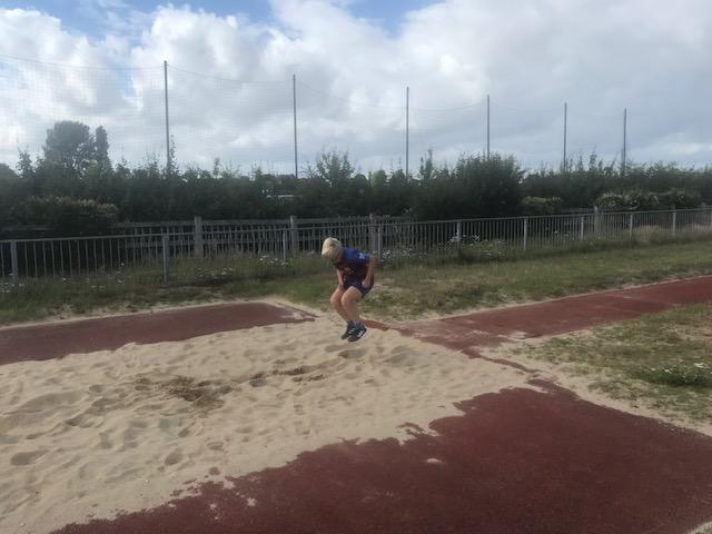 Albert's long jump