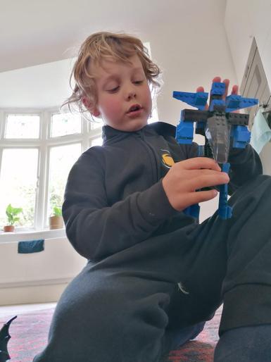 Ronson's brilliant lego model