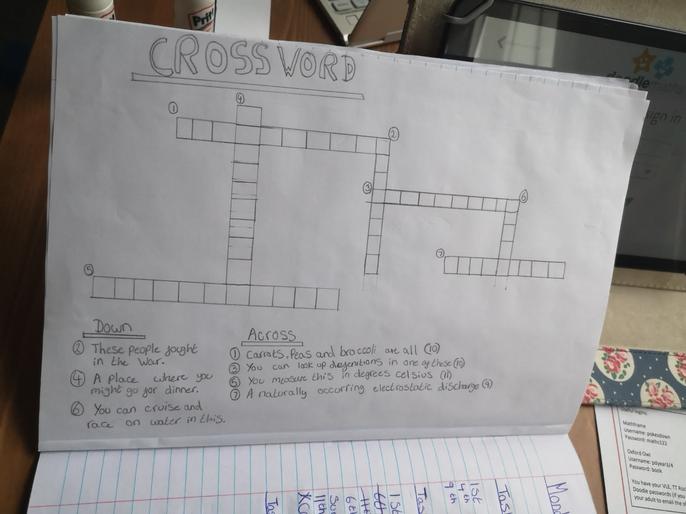 Summer's puzzling crossword