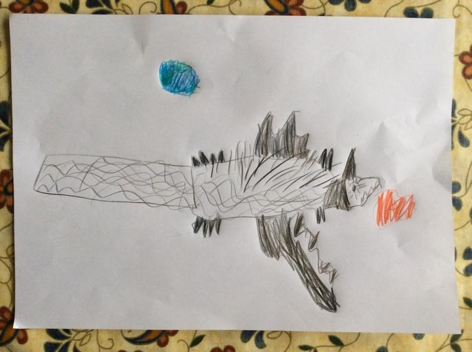 Mollie's super Space-Bat-Angel-Dragon