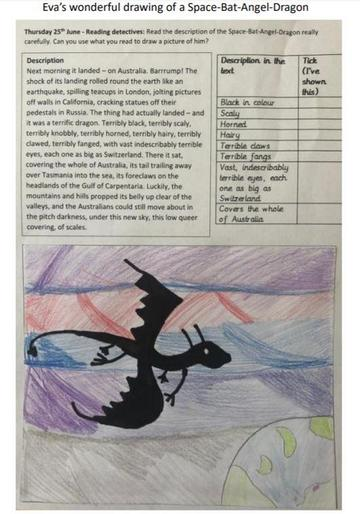 Eva's amazing Space-Bat-Angel-Dragon