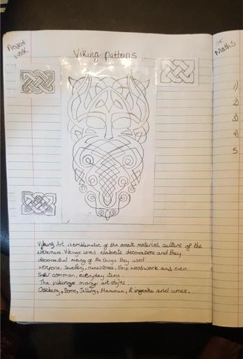 Caitlin's Viking patterns