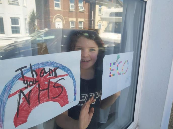Margaux and her window!